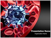 Virus in blood PowerPoint Templates