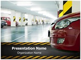 Parking lot Editable PowerPoint Template