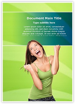 Winning Happiness Editable Word Template