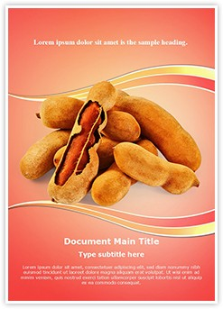 Tamarind Editable Word Template