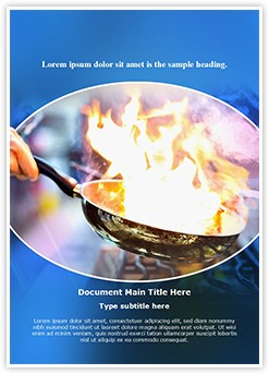 Chek Cooking Editable Word Template