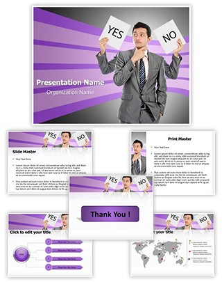 Right decision Editable PowerPoint Template
