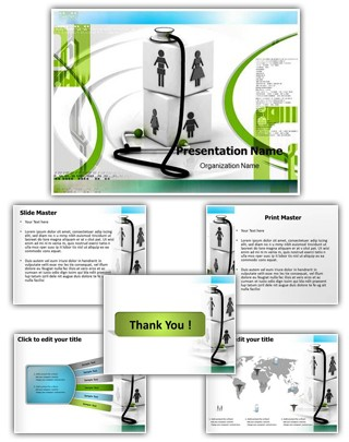 Complete Family Healthcare Editable PowerPoint Template