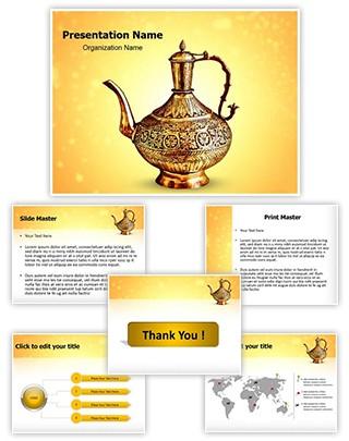 Vintage Pot Editable PowerPoint Template