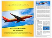 Southwest Boeing Editable Word Template