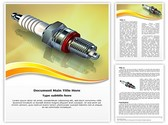 Spark Plug Editable Word Template