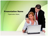 Office Sexual harassment Editable PowerPoint Template