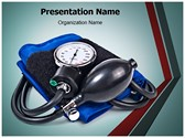 Blood pressure machine PowerPoint Templates