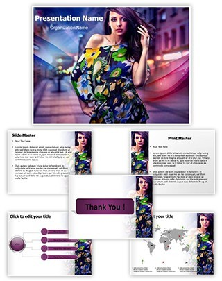 Fashion Editable PowerPoint Template