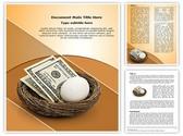 Retirement savings Template