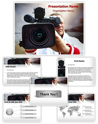 Reporter Editable PowerPoint Template