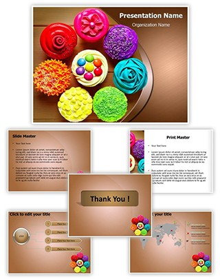 Cupcakes Editable PowerPoint Template