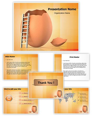 Escape Editable PowerPoint Template