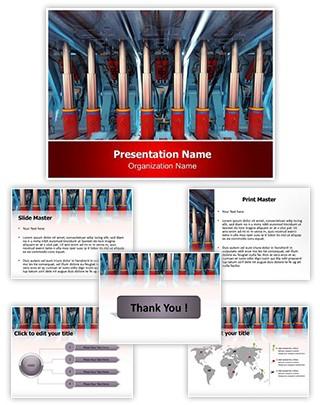 Hydraulic Editable PowerPoint Template
