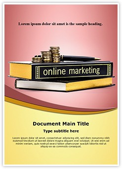 Online Marketing Knowledge Editable Word Template