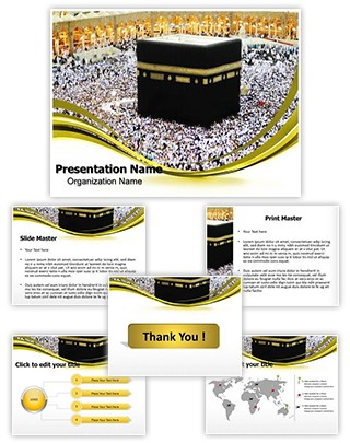 Makkah Editable PowerPoint Template