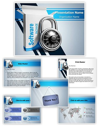 Licensed Software Editable PowerPoint Template