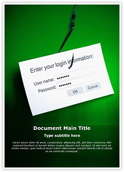 Phishing Editable Word Template