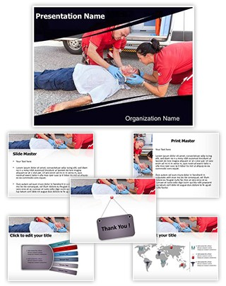 Medical Rescue Editable PowerPoint Template