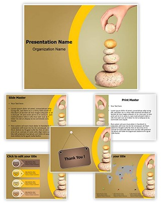 Balance Editable PowerPoint Template