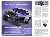 Sport Utility Vehicle Template