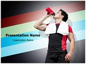 Athlete Dehydration PowerPoint Templates