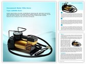 Car Air Compressor Template