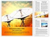 Satellite antennas Template