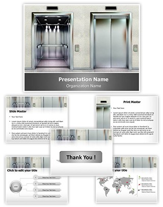 Elevator Editable PowerPoint Template