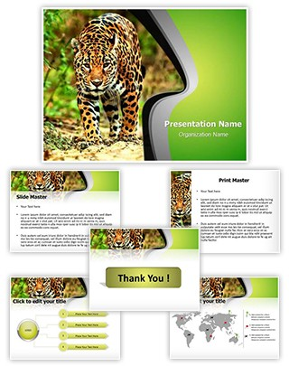 Jaguar Editable PowerPoint Template