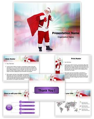 Santa Claus Editable PowerPoint Template