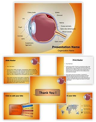 Retinal detachment Editable PowerPoint Template