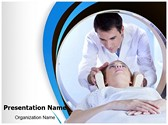 CT scan procedure PowerPoint Templates