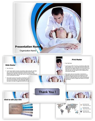 CT scan procedure Editable PowerPoint Template