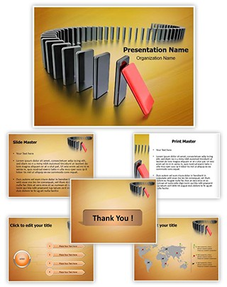 Domino Editable PowerPoint Template
