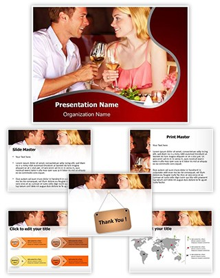 Couple Date Editable PowerPoint Template