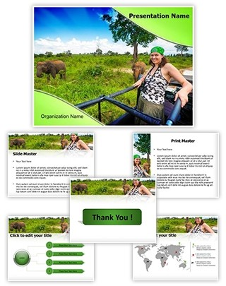 Jungle safari Editable PowerPoint Template