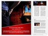 Police and Prostitute Editable Word Template