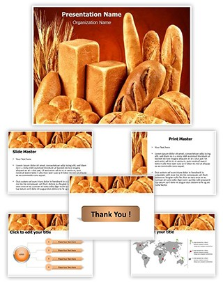 Breads Editable PowerPoint Template