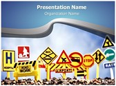 Sign Boards Editable PowerPoint Template