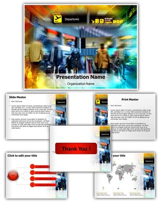 Airport Editable PowerPoint Template