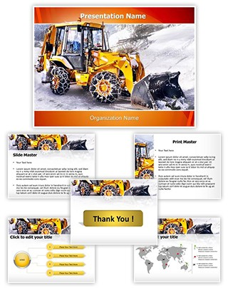 Snow Removal Editable PowerPoint Template