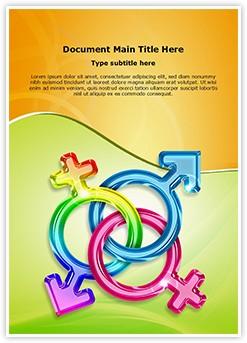 trans gender Editable Word Template