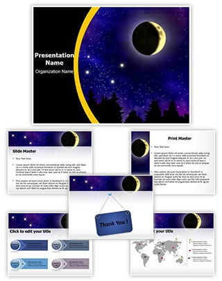 Big Dipper Editable PowerPoint Template