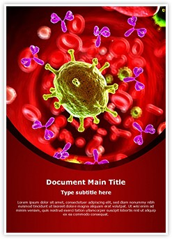 Antibodies Editable Word Template