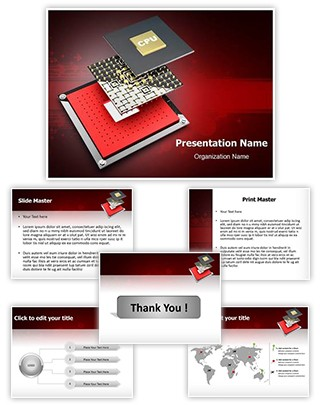 Chip Designing Editable PowerPoint Template