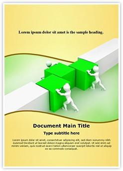 Working in Team Editable Word Template