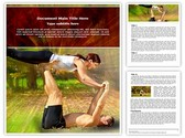 Tantra Yoga Editable Word Template