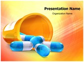3D pills PowerPoint Templates