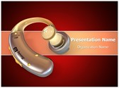 Hearing Aid PowerPoint Templates